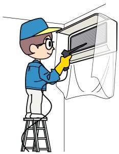 エアコンの掃除はこまめにしないと体に悪影響があるってほんと?のサムネイル画像
