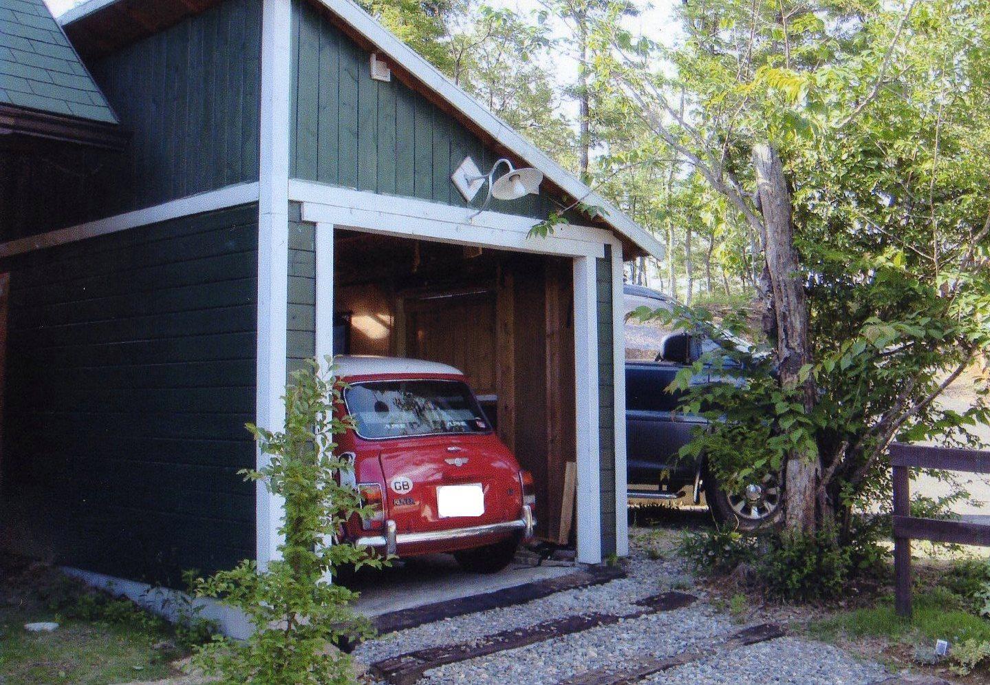 DIYでガレージを作るのは、男にとって、憧れです。いつかは作りたいのサムネイル画像