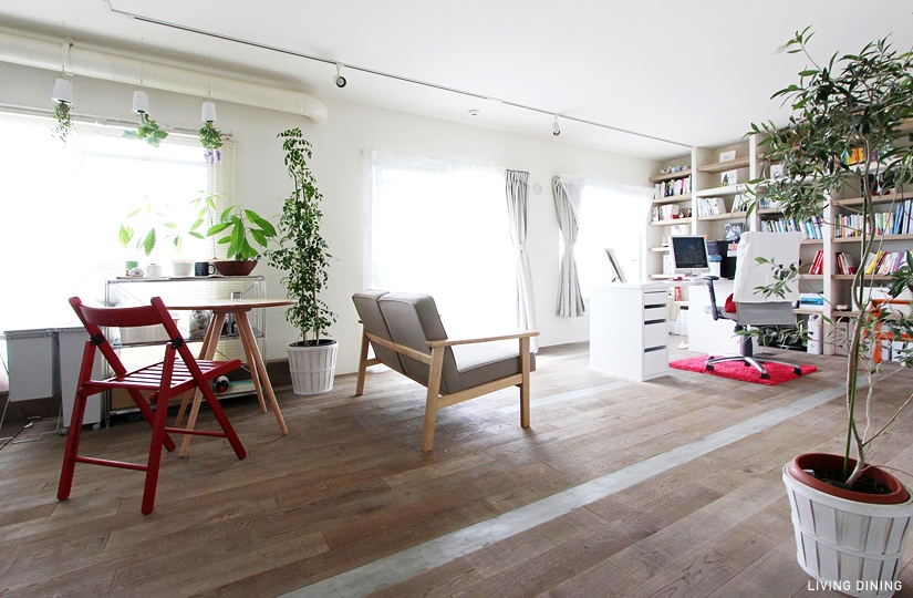 おしゃれな部屋の必需品・観葉植物はマストアイテムです!!のサムネイル画像