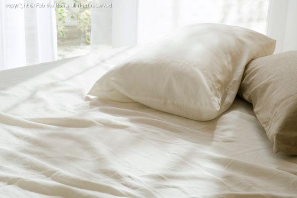 寝苦しい夏の夜を快適にする<麻のシーツ>ご存知ですか?のサムネイル画像