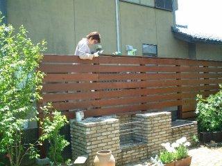 DIY作業をして、自宅の敷地を、ウッドフェンスで区切りませんか?のサムネイル画像