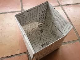 エコすぎる!新聞紙で作る丈夫なゴミ箱がとっても良いんです!!のサムネイル画像
