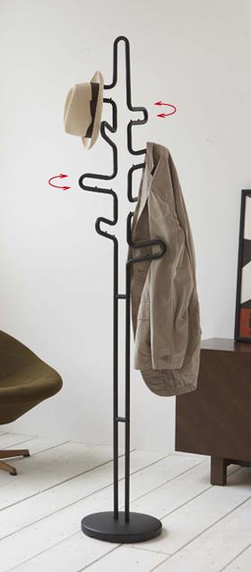 玄関にあると便利な【コート掛け】お洒落コート掛けが勢ぞろい!のサムネイル画像