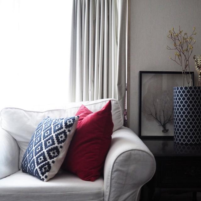 ikeaで販売されている可愛くて素敵なデザインのクッションをご紹介!のサムネイル画像