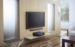 液晶テレビが、家庭でも当たり前です!壁掛けて、鑑賞しましょう♪のサムネイル画像