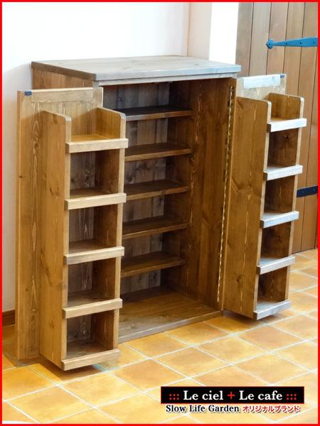 収納棚として、家具をみましょう。色んなタイプがありました!のサムネイル画像