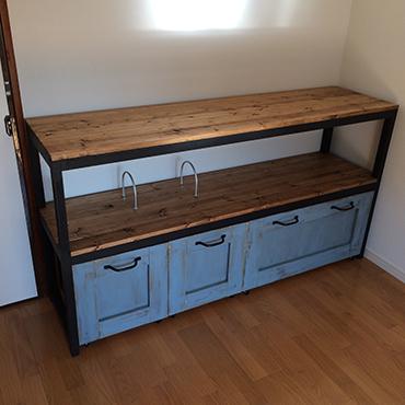 お住まいの収納するスペースを作る事を考えて、DIYでやりましょう!のサムネイル画像