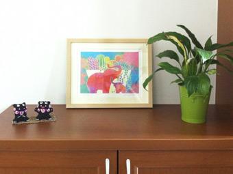風水的な意味合いも考えながら、玄関に素敵な絵を飾ってみませんか?のサムネイル画像