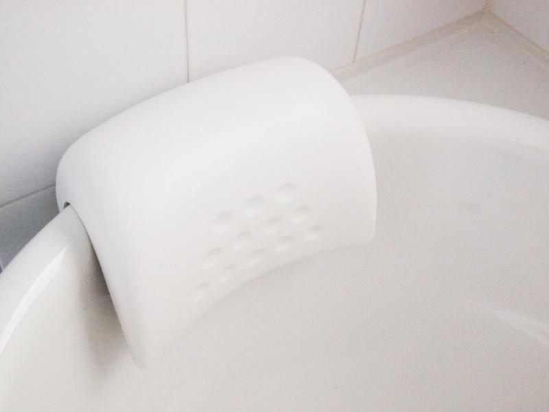 お風呂でゆっくりリラックス~♪お風呂用枕でゆったりのんびり!のサムネイル画像