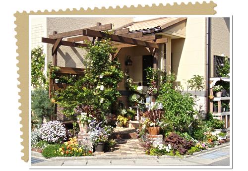 ガーデンを手作りでお洒落で素敵な理想の形に変身させよう!のサムネイル画像