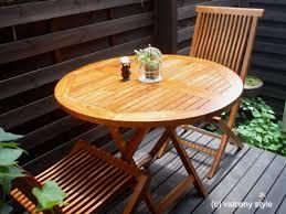 狭いスペースでも有効活用できるバルコニーテーブルを紹介します!!のサムネイル画像