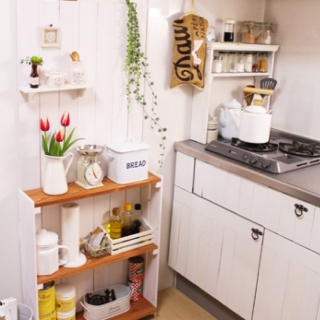 ちょこっとリメイクで家事もはかどる?キッチンのリメイク術!のサムネイル画像