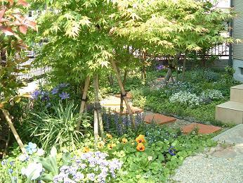 お宅の庭が、小さな庭でも大丈夫!ガーデニングを楽しみましょう!のサムネイル画像
