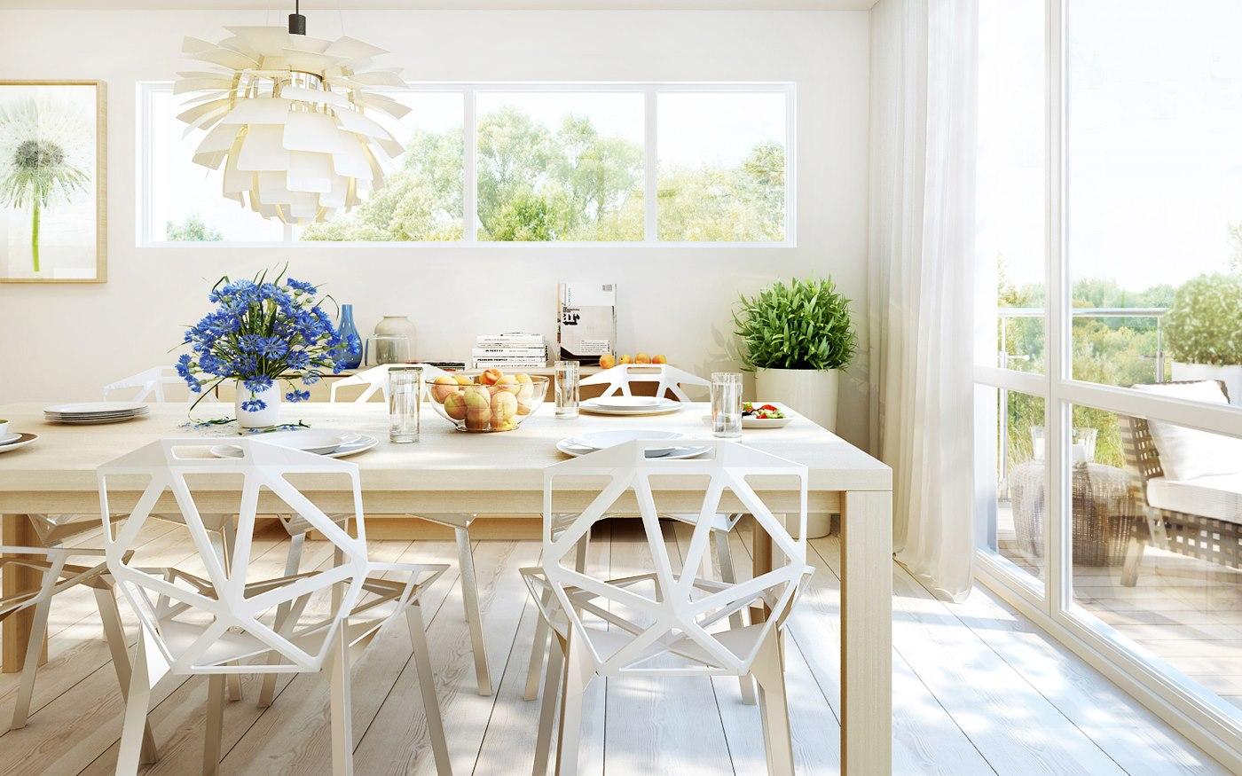 白いテーブル使ってる?コーディネート例とおすすめ商品を紹介のサムネイル画像