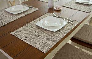 テーブルコーディネートはお洒落なランチョンマットにお任せ♪のサムネイル画像