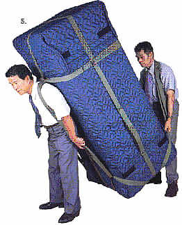 冷蔵庫は、大型家電です。運び方がありますので、方法を調べます!のサムネイル画像