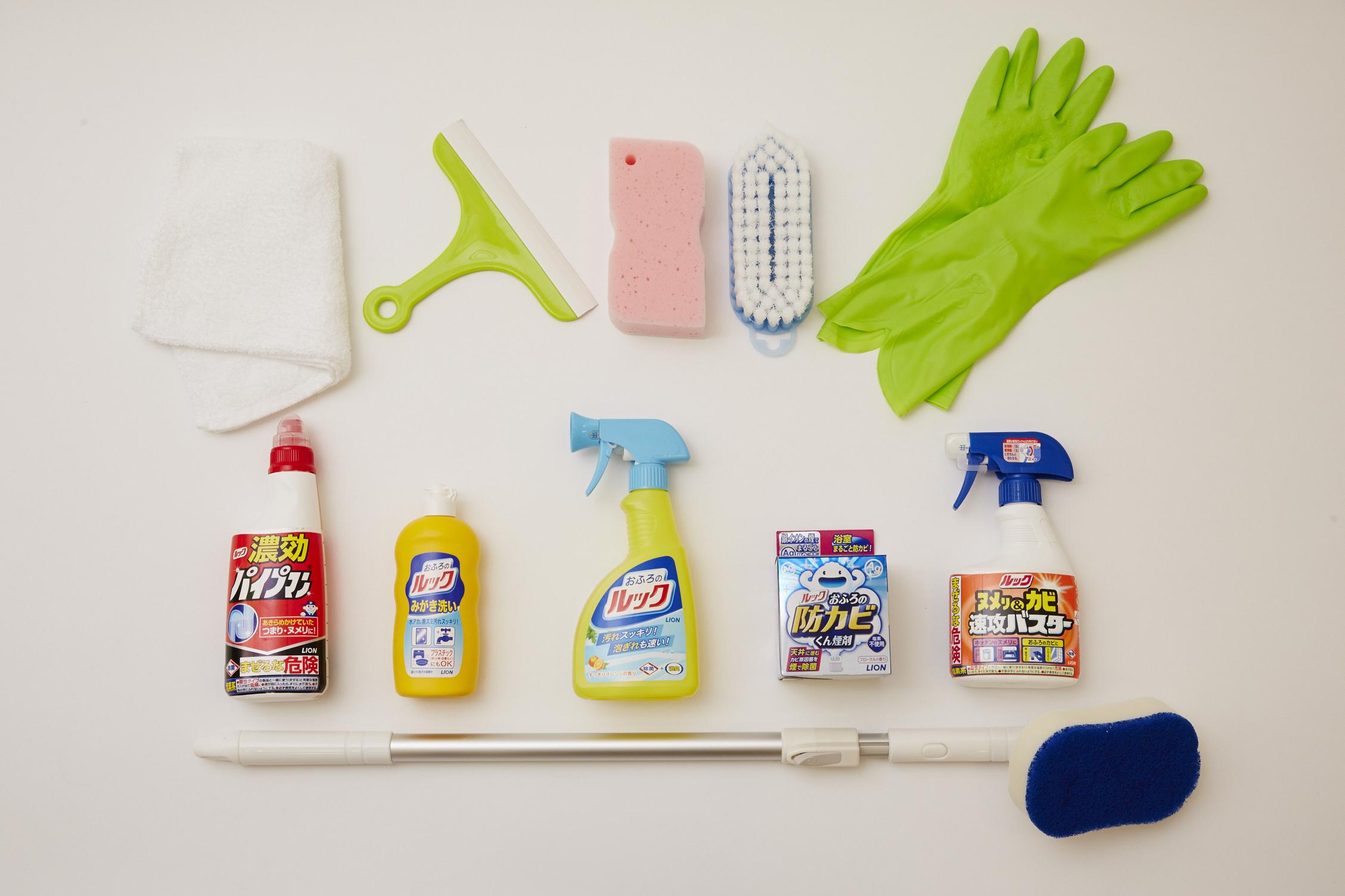 大掃除に大活躍!? 機能的なだけじゃないオススメの掃除道具のサムネイル画像