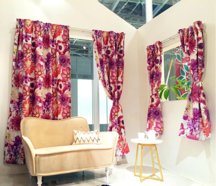 高級感があってかわいい!フランフランのカーテンがオシャレ!のサムネイル画像