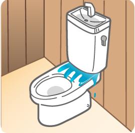 えーっ!トイレが水漏れ?!トイレが水漏れしたらどうしたらいいの?のサムネイル画像