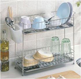 食器洗いに欠かせないタイプ別の【水切りラック】をご紹介しますのサムネイル画像