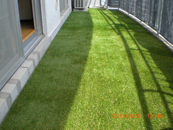 マンションのベランダでも芝生を楽しみたい。何かいい方法はない?のサムネイル画像