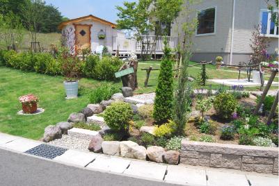 庭作りを踏み出すには、しっかりした造園設計が、必要です!のサムネイル画像