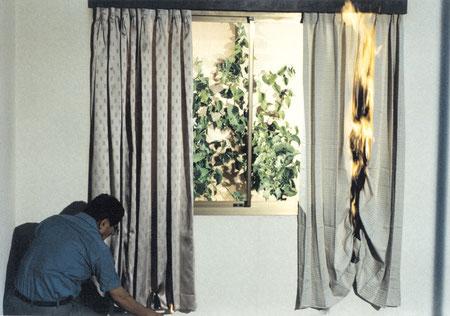 火災の時の強い味方!防炎のカーテンで安心できる家にしましょう!のサムネイル画像
