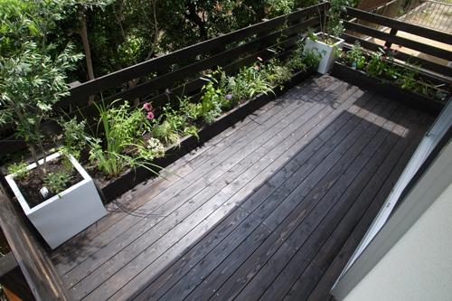 ベランダにお庭を!ガーデニングをベランダで、やりましょう♪のサムネイル画像