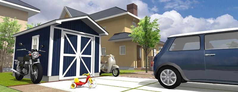 組み立てるだけ!小屋キットで簡単DIY♪基礎から作る方法教えますのサムネイル画像