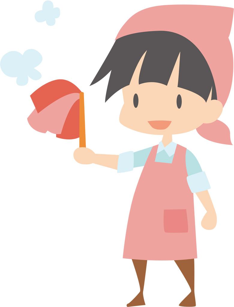 あなたの製作物に大活躍!可愛くて便利な掃除イラストをご紹介のサムネイル画像