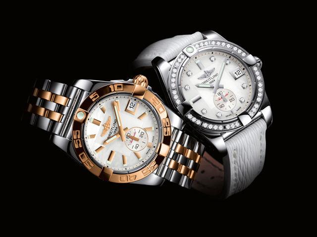 超高級腕時計《ブライトリング》にレディースもあるんです!のサムネイル画像
