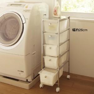 《洗濯機のサイドラック》洗濯機の周り活用していますか??のサムネイル画像