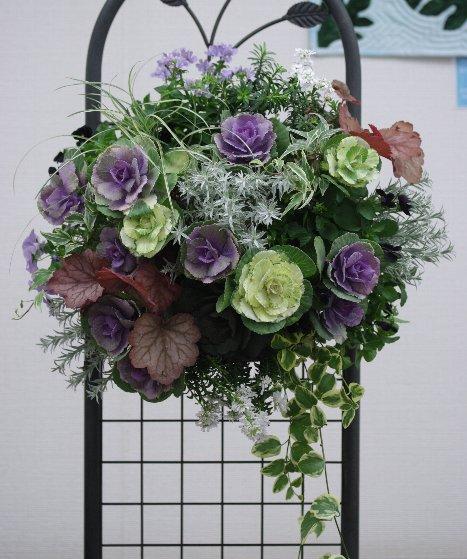 簡単ラクラク♪スリットバスケットを使った花株の植え方を紹介のサムネイル画像