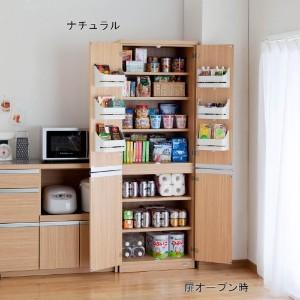 キッチンに、食品や調味料を収納する、ストッカーを置いて下さい!のサムネイル画像