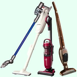 気がついた時にサッと使える!人気のスティック型掃除機をご紹介!のサムネイル画像