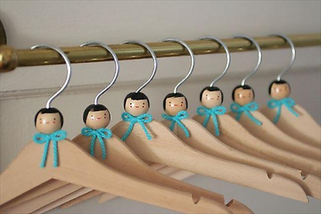 クローゼットに入れておくのはもったいない!おしゃれなハンガー☆のサムネイル画像