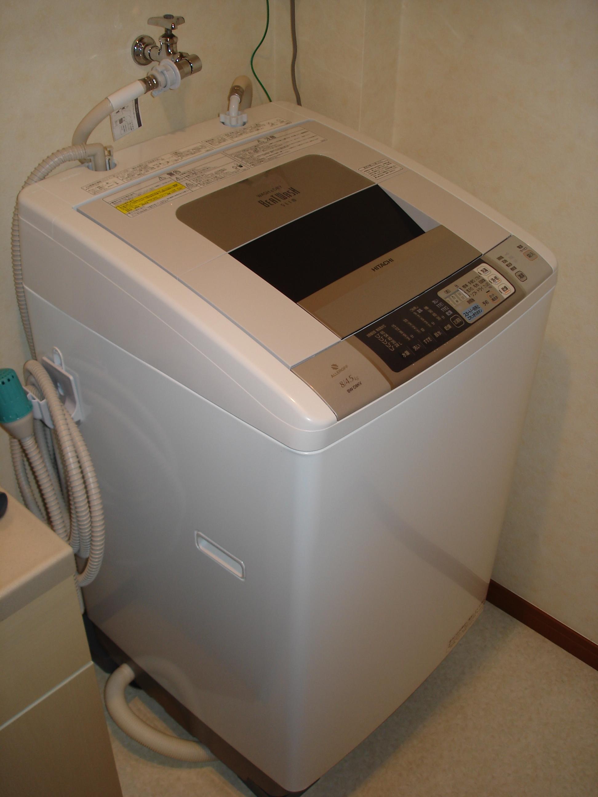 洗濯機の設置は自分でできますか?設置のガイドラインです。のサムネイル画像