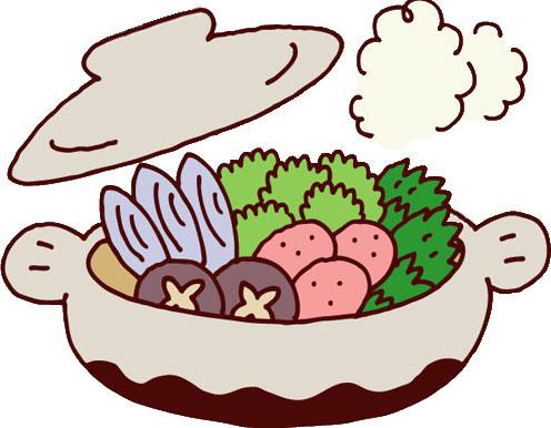 寒い冬には欠かせない!鍋料理のイラストを集めてみました!のサムネイル画像