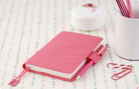 【持ってるだけで毎日が楽しくなる♪】A6サイズの手帳カバー☆のサムネイル画像