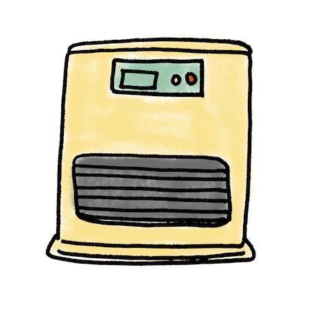 石油ファンヒーターを使う上で、電気代は、どのぐらいでしょう?のサムネイル画像