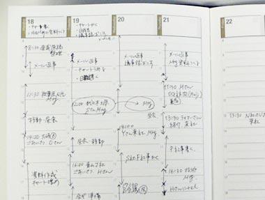 手帳はバーチカル式の手帳がビジネスシーンで大活躍!その使い方は?のサムネイル画像
