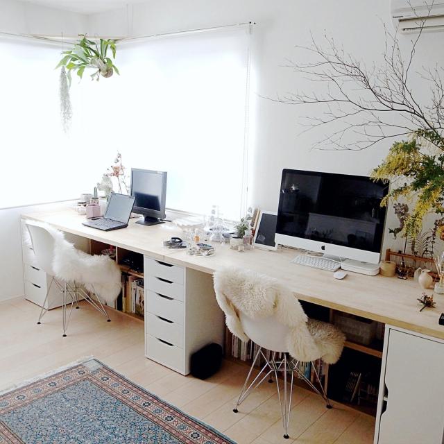 作って使って毎日ハッピー♪自作の机を楽しんでみましょう!のサムネイル画像