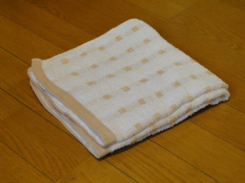 普段手をふく程度のバスタオルなんて安いぼろいタオルでいいのですのサムネイル画像