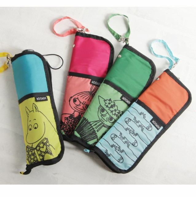 これは便利!折りたたみ傘のケースがあれば荷物も周囲も濡れません♪のサムネイル画像