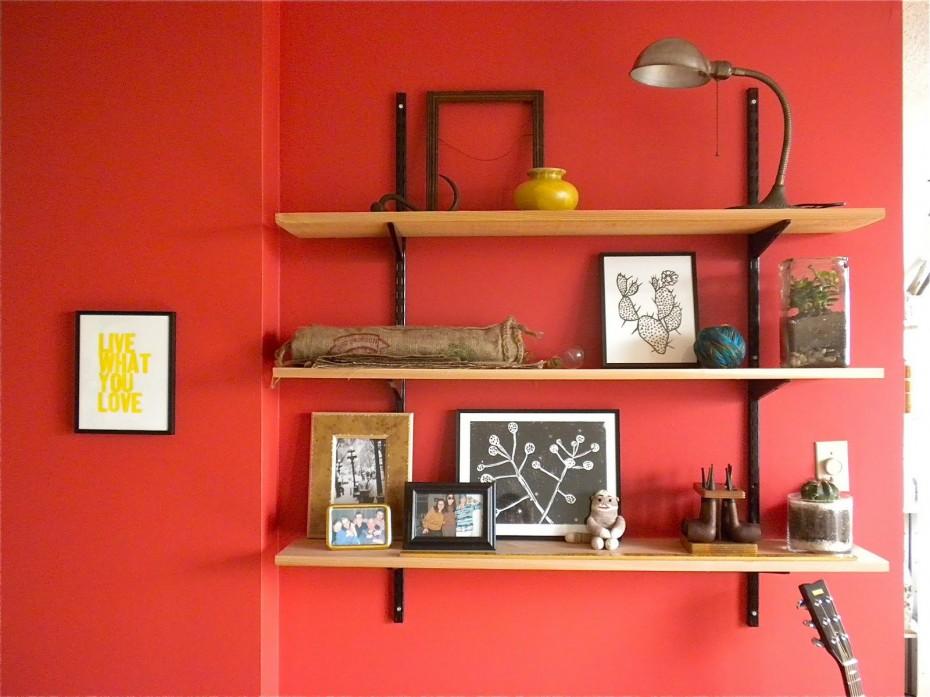 初心者でも作れる棚の作り方。簡単な工夫でおしゃれなインテリアに!のサムネイル画像