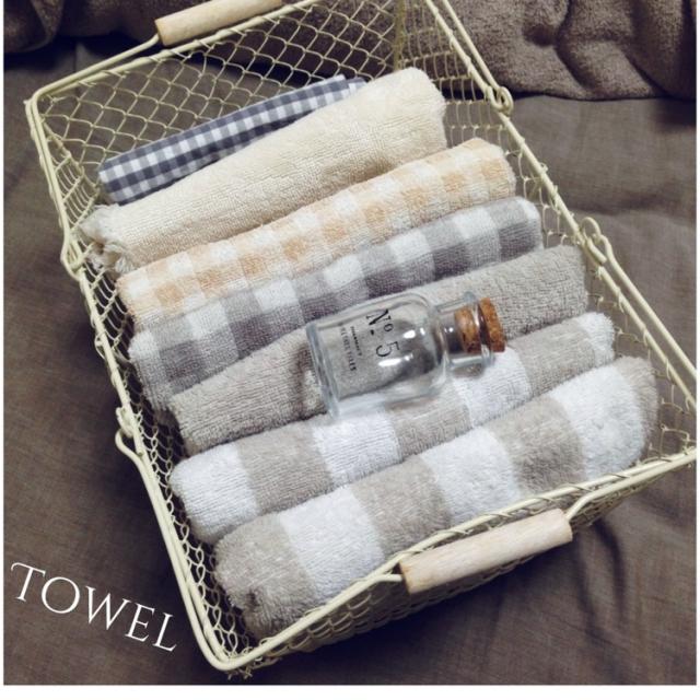 無印良品のタオル|ふわふわ&やさしいモノトーンでしあわせUP☆のサムネイル画像