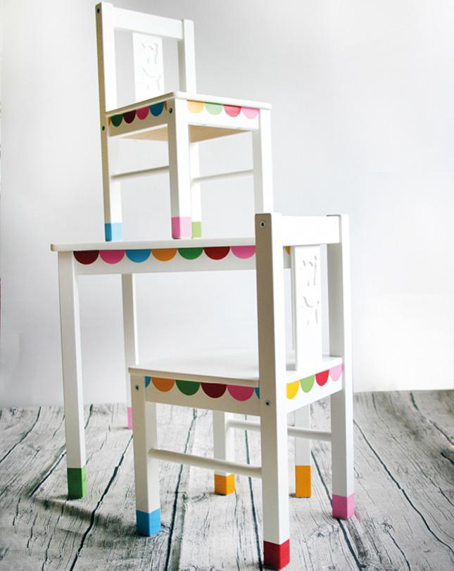 ikeaのLATTをDIY!!キッズ用テーブルと椅子のおしゃれアレンジ集☆のサムネイル画像