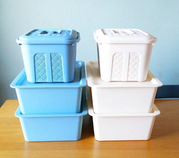 整理整頓が出来ない私とさようなら!ダイソーの収納ボックス活用法!のサムネイル画像