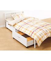 ニトリのベッドを使って、一日の疲れを癒し、ぐっすり眠ろう♪のサムネイル画像