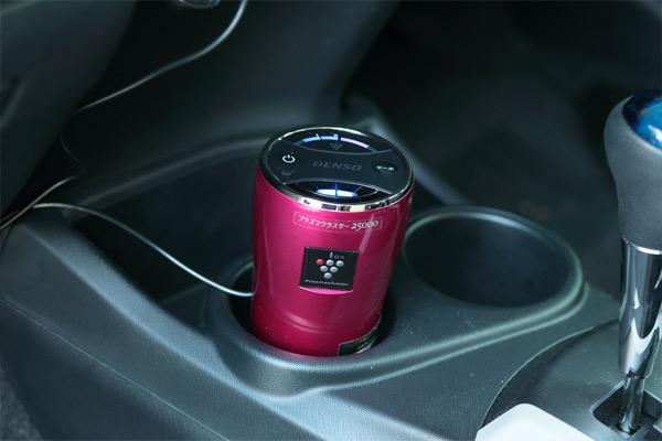 きれいな空気に消臭力も抜群、車にプラズマクラスターを使おう!のサムネイル画像